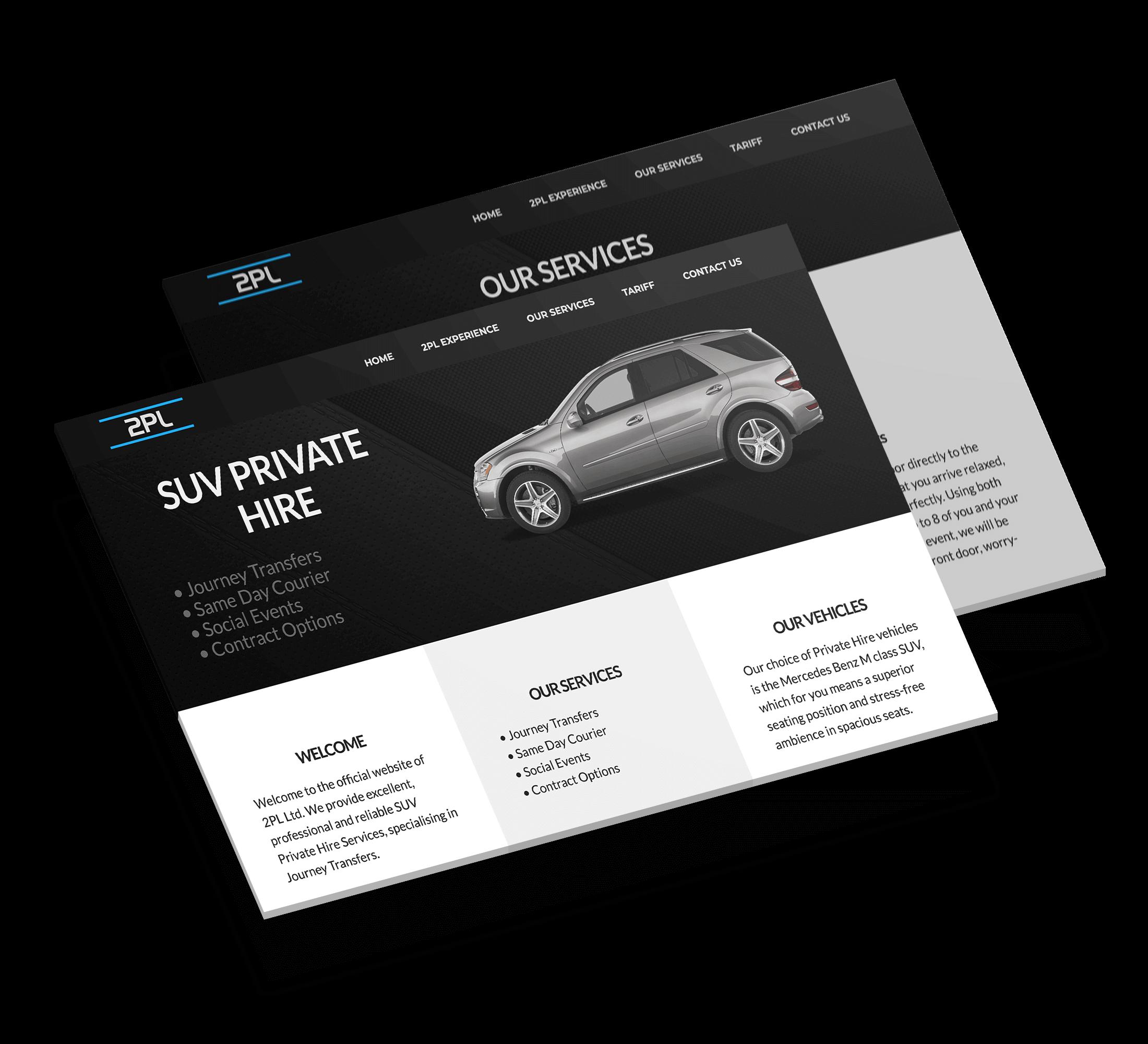 2PL - web design